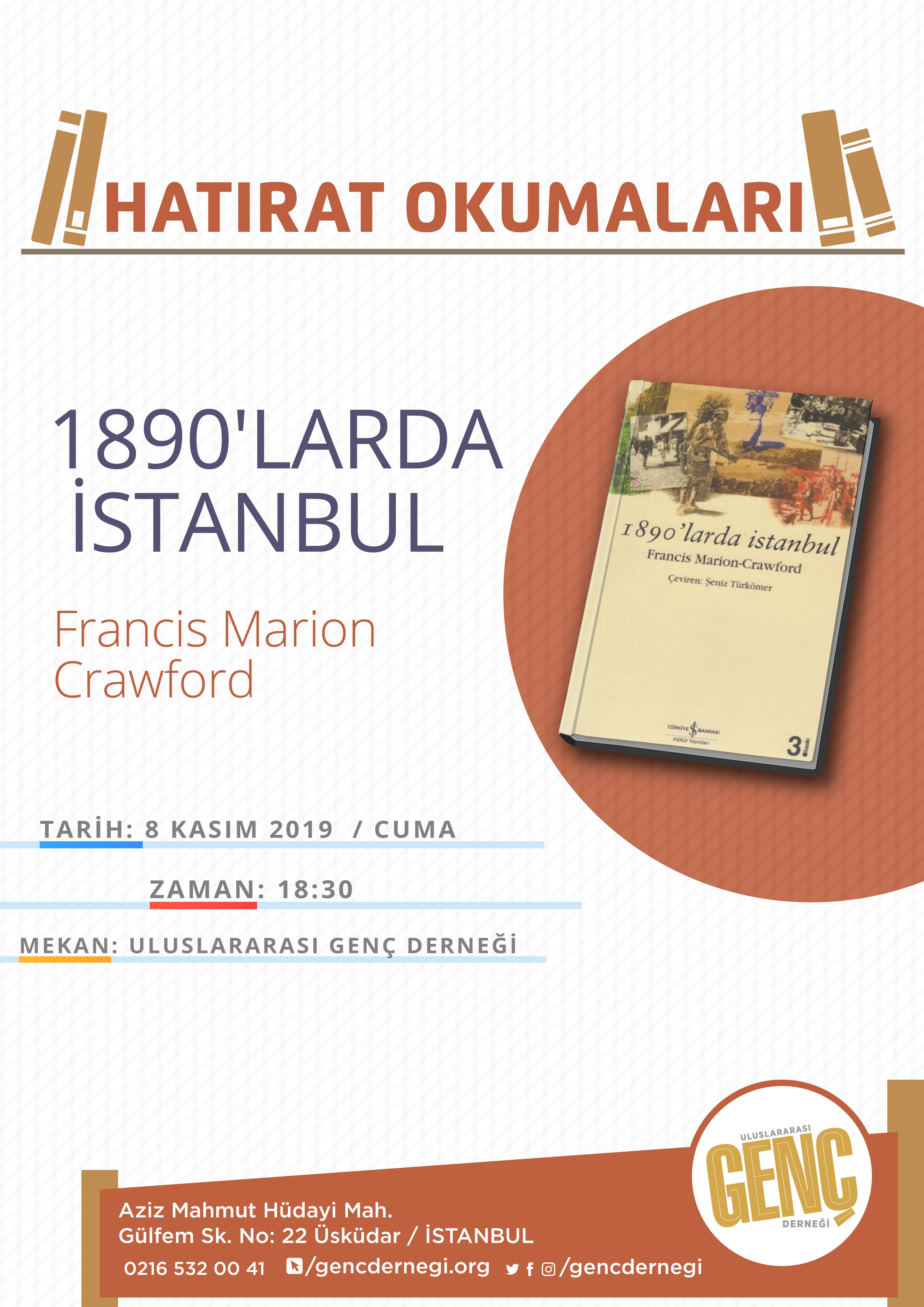 1890'larda İstanbul Afişi
